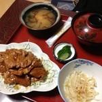 太田食堂 - 焼き肉定食。
