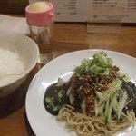 かっちゃんラーメンSP - 黒ごま冷し担々麺+ライス中