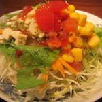 居食家 灯り - サラダアップ