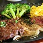 紫峰 - ダチョウ肉のステーキ