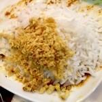 なんどり - そぼろゴハン タイ米と鮫