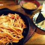 ビボ - ある日のスパゲティーセット(550円)