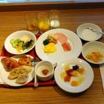 カフェ ランデヴー - 朝食ビュッフェ(1,200円)