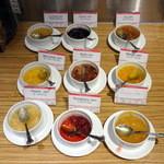 カフェ ランデヴー - 朝食ビュッフェのジャムバー