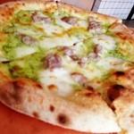 20702091 - ジェノベーゼのピザ