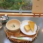 喫茶ボルヤン - クラムチャウダー