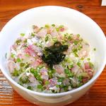 Oyajinokura - あじのタタキ丼