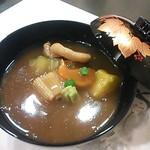 20705195 - 吸い物:初めていただいた治部煮 は加賀の郷土料理