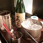 石慶 - 黒糖焼酎ボトル