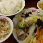 和福飯店 - 八宝菜スペシャルセット:850円