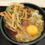 ゆで太郎  - 料理写真:天玉そば