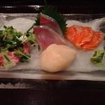 20710738 - お造り三種盛り定食 ¥850