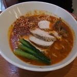 担々麺 ほおずき - 鶏チャーシュー担々麺中辛