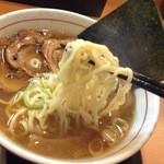 らーめん 円満 - 炙りチャーシュー麺アップ
