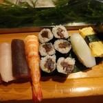 魚がし寿司 - 2013.08上寿司(1000円)