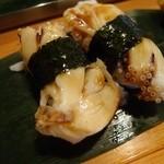 魚がし寿司 - 2013.08ゲソ(一個50円)