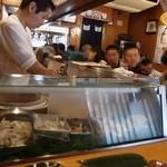 魚がし寿司 - 2013.08店内