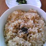 花の花 - 玄米ご飯
