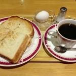 ポトロ - ツナトースト&コーヒー
