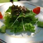 チェンバロ - 前菜のサラダ
