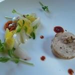 フランス食堂 みち草 - 料理写真:イカとコリンキーの和え物、ボロンティーヌ