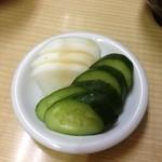 成田屋 - さっぱりした漬物