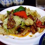 中嘉屋食堂 麺飯甜 - 回鍋肉