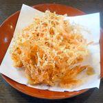 鐘庵 - 料理写真:桜えびかき揚げ ¥230