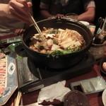 ばり鶏 - 地鶏のすき焼き鍋