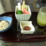 生簀割烹 海幸 - 料理写真:1日目の朝食(一の膳)