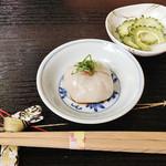 霧島そば處かわぐち - 蕎麦豆腐