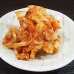 麺工房 武 - キムチ(150円)