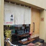 茶屋赤鰐 - お店は名鉄岐阜駅から歩いて5分ほどのところにあります。