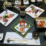 湖のホテル - 料理写真:夕食