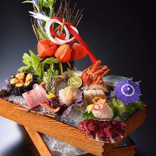 三陸産魚貝類をはじめとしたこだわりの食材でおもてなし
