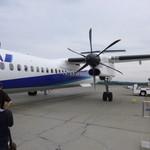 Rimo - 2013.08 女満別から札幌への飛行機はボンバルディアでした:汗