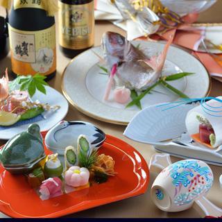 日本料理 瀬戸内 - お慶びの席にふさわしいお料理もご用意いたしております。