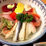 お食事処 さくら - 3013/08/XX 地魚とそのた他15種類のネタ