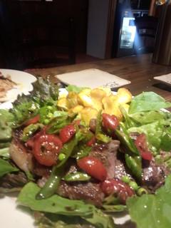 トレガッティ - ステーキのサラダ仕立て