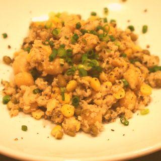 インド豆のサラダ。