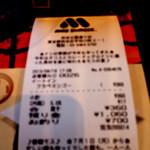 モスバーガー 渋谷公園通り店 -