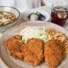 こだま食堂 - 料理写真:ヒレカツ定食600円