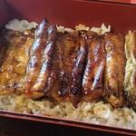 割烹 清川 - 料理写真:北上川天然鰻重4400円