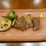 みやび亭 - 山形三元豚ロース肉のステーキ