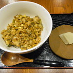 みやび亭 - じゃこと高菜のチャーハン