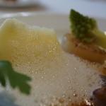 レストラン・マッカリーナ - 季節の野菜と真狩いも