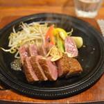 キャラバン ステーキ専門店 - ヒレサーロインmix120g