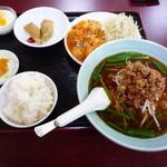 台湾料理 萬福 - 料理写真:エビチリ定食 980円