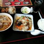 20731202 - 日替わりランチ牛肉の野菜炒め(680円)