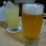 20731806 - オリオンビールとサワー